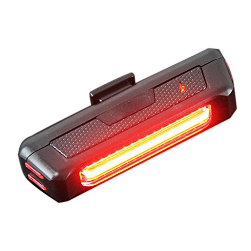 USB Rechargeable Bike Taillight Bicycle Lamp - Waterproof Bright LED Bicycle Light ,6 Modes to Choose, iParaAiluRy (Hummer Shaped Speakers compare prices)
