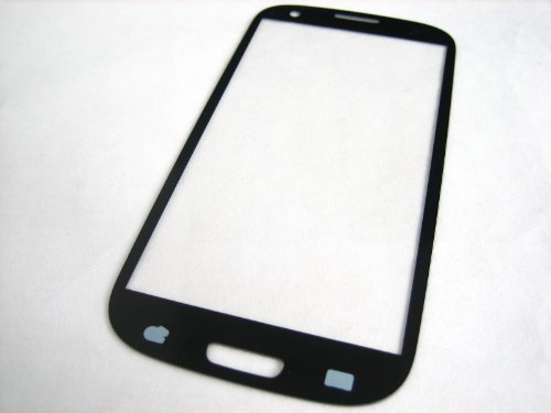 Samsung Galaxy S3 Iii T-Mobile Sgh-T999 / At&T Sgh-I747 / Verizon Sch-I535 / Sprint Sph-L710 / Us Cellular Sch-R530 / Gt-I9300 , Pebble Blue Front Glass , Mobile Phone Repair Part Replacement