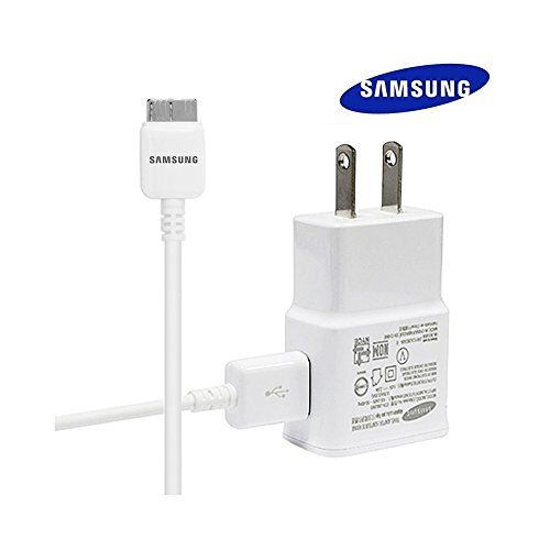 Original Samsung Galaxy S5 USB 3.0 Travel/Wall Charger (2 Amp), White (EP-TA10JWE)