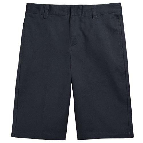 French Toast School Uniforms Flat Front Adjustable Waist Short Boys Navy 5