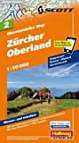 MTB-Karte 02 Zürcher Oberland 1:50.000: Mountainbike Map