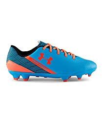 Under Armour Youth SF Flash FG Firm Ground Soccer Cleats 4 US, Capri/Black/Afterburn