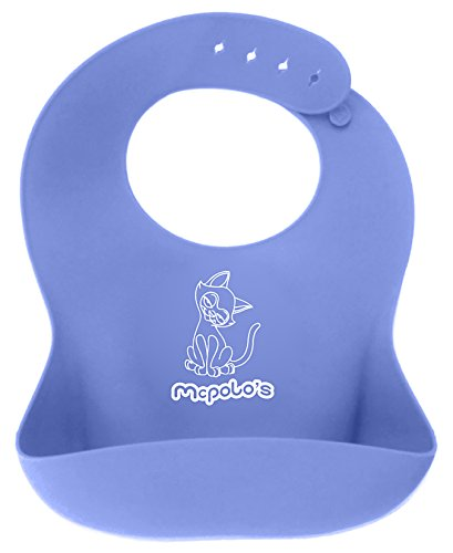 Babysoft 44 ® - The Ultimate Silicone Baby Bib Solution - Fitting Growing Babies 4 Months To 4 Years Old Comfortably With Smart Buttons - Picking Out A Cleaner One Again To Delay The Wash For Just One More Day? ... Lo Is Watching!! ... Rather Watch Lo Pla front-92181