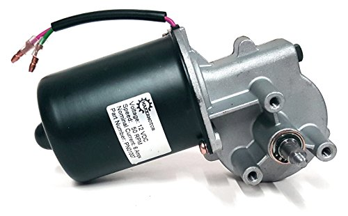 Makermotor 12V DC Reversible Electric Gear Motor 50 RPM (12v Electric Motor compare prices)