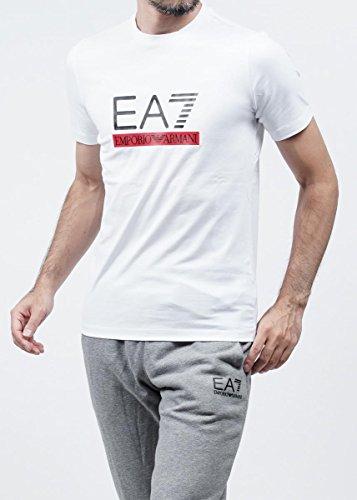 (エンポリオアルマーニ) EA7 EMPORIO ARMANI クルーネックTシャツ WHITE [並行輸入品]