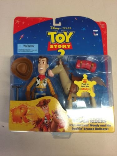 Disney / Pixar Toy Story 2 Pack Woody Bullseye Rough Riders 6 Inches High - 1