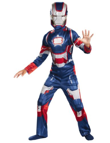 Iron Patriot Child Costume Classic 4-6 Kids Boys Costume
