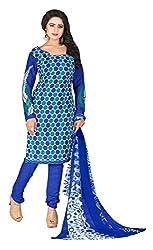 Parinaaz Fashion Pink Bhagalpuri Dress Material