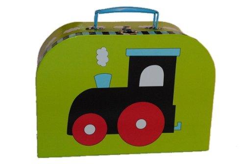 Kinderkoffer in 3 Größen ! Eisenbahn grün