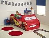 Disney Cars 2 Lightning McQueen Feature Toddler Bed