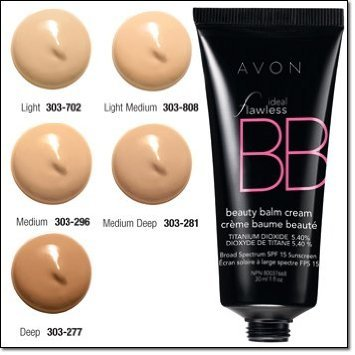 Avon Ideal Flawless Bb Beauty Balm Cream Color Medium