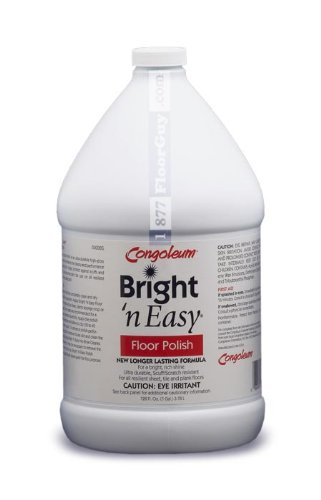 Congoleum Bright 'N Easy Floor Polish (High-gloss), Gallon