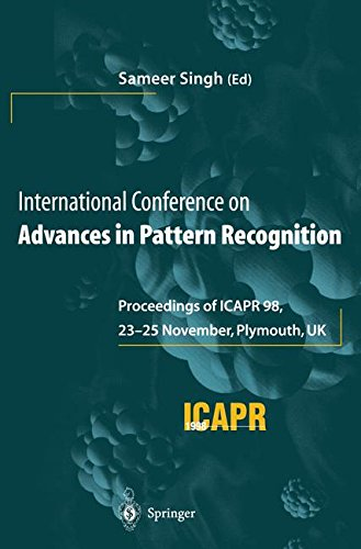 International Conference on Advances in Pattern Recognition : Proceedings of ICAPR ' 98, 23 – 25 novembre 1998, Plymouth, Royaume-Uni
