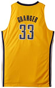 NBA Indiana Pacers Gold Swingman Jersey Danny Granger #33 by adidas