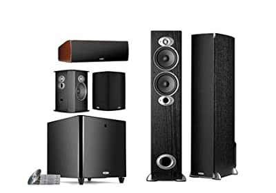 Polk Audio RTiA5 Home Theater System Black Color by Polk Audio