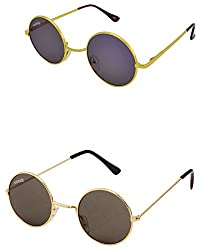 Benour BENCOM021 Combo Unisex Sunglasses