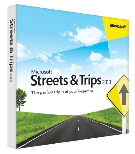 Microsoft Streets and Trips 2013 Win32 [Old Version] (Streets And Trips Software compare prices)