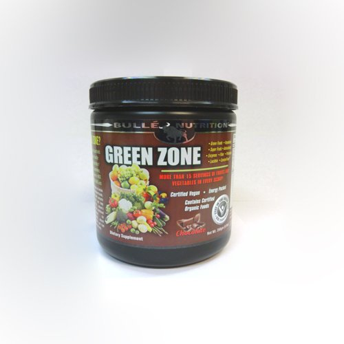 Green Zone - Chocolate Bulle Nutrition 8.8 Oz Powder