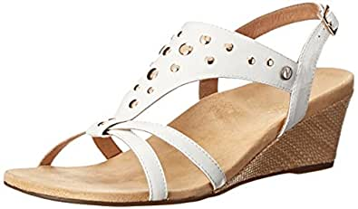 Orthaheel Vionic By Orthaheel Women's Catarina Sandals (6 B(M) Us, White)