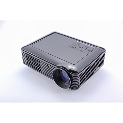 Powerful 3d Smart Projector Full Hd Business Portable Projector 1080p Projector led,Short Throw Projector Black (Short Range Projector compare prices)