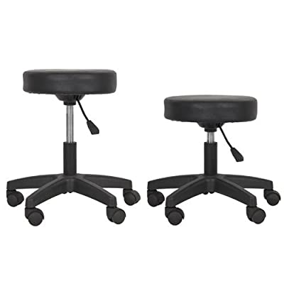 Salon Stool Hydraulic Tattoo Massage Facial Spa Stool Chair Black New