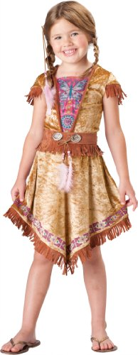 InCharacter Costumes, LLC Big Girls' Indian Maiden Dress Set