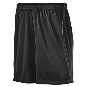 Click here to buy Soccer Shorts - Wicking Performance Moisture Management Comfort (9 Youth and Adult Sizes in 2 Styles, Black and Black... by Augusta.