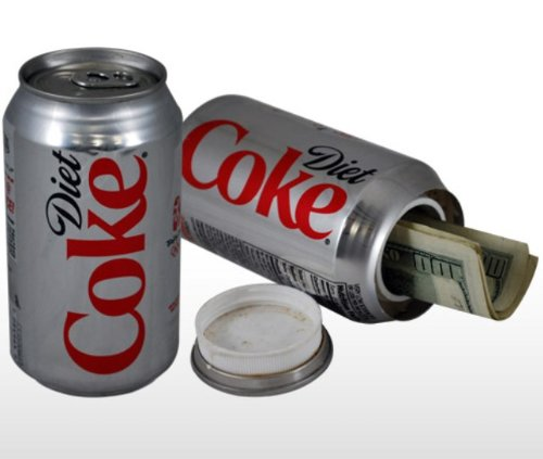 Diet Coke Stash Safe Diversion Can,hidden safe,portable safe,security safe,