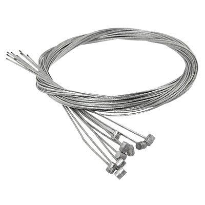 Como 10 Pcs 1.77M Length Bike Replaceable Cycling Rear Brake Cable