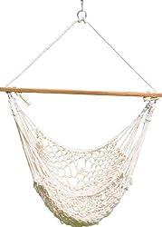 Hangit Cotton Rope Swing Natural
