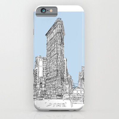 Society6 - The Flat Iron Iphone 6 Case By 1And9