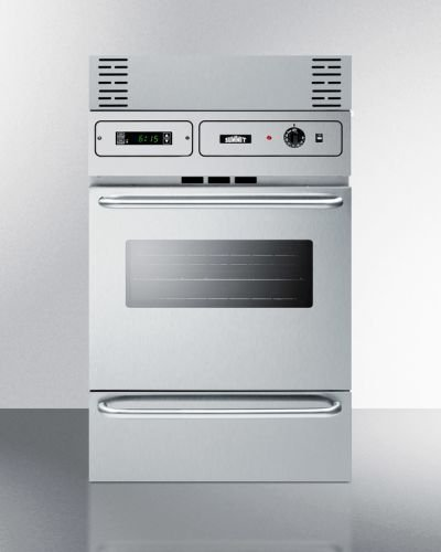 Stainless Steel 220V Electric Wall Oven With Digital Clock/Timer (23 Inch Wall Oven compare prices)