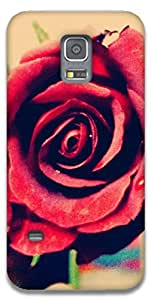 The Racoon Grip Rose hard plastic printed back case / cover for Samsung Galaxy S5 Mini
