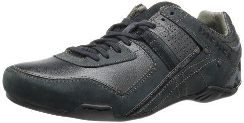 Diesel - Zapatos de cordones hombre, Negro, 41.5