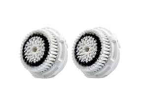 Clarisonic Dual Brush Head Pack, White Box