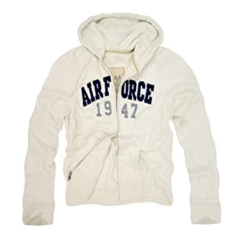 RD Genuine US Airforce Waffle Lined Military Fleece Hoodie - Cream - X-Large - by Rapid Dominance