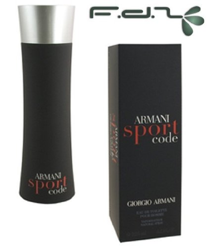 Armani Code Sport Eau De Toilette Spray 75ml