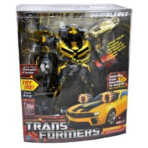 Transformers Limited Edition Metallic Gold Finish
