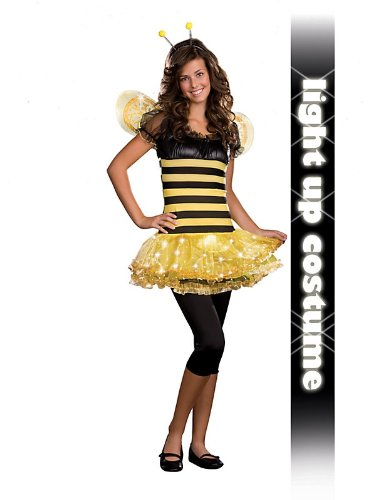 Junior Busy Lil' Bee Teen Light-up Costume