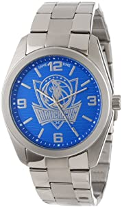 Game Time Unisex NBA-ELI-DAL Elite Dallas Mavericks 3-Hand Analog Watch by Game Time