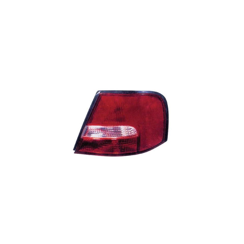 00 01 NISSAN ALTIMA Right Tail Light Passenger (2000 00 2001 01) 265500Z825 Rear Taillight Lamp RH