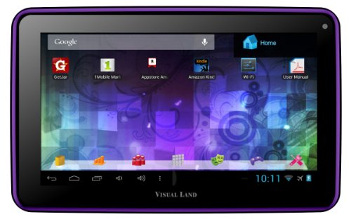 Visual Land Prestige 7L - 7-Inch Tablet with 8GB Memory (Purple)