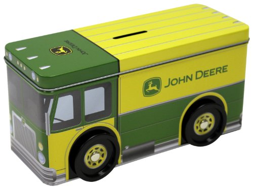 The Tin Box Company John Deere Truck Bank