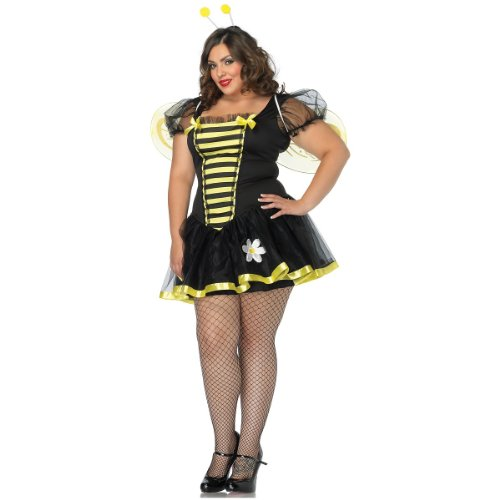 Costumes For All Occasions Ua83645Xxl Daisy Bee 1X-2X