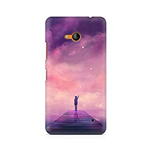 MOBICTURE Pattern Premium Designer Mobile Back Case Cover For Nokia Lumia 640