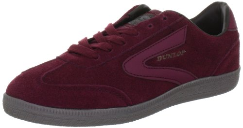 Dunlop Clay Court Low Top Unisex-Adult Red Rot (Burgundy) Size: 43
