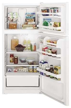 Amana A4TCNWFBW 14.4 Cu. Ft. White Top Freezer Refrigerator