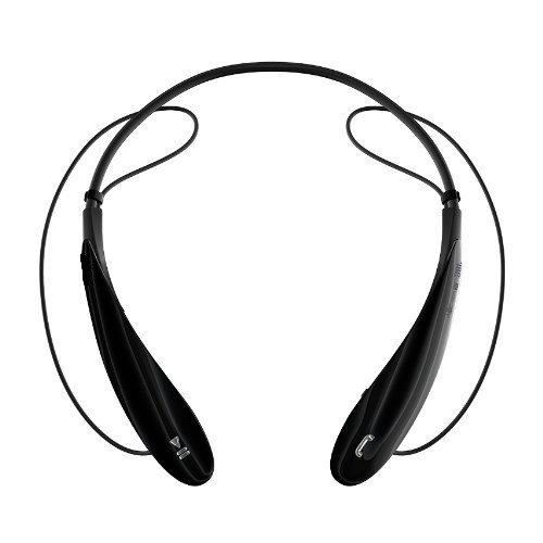 Docase Wireless Bluetooth Music Stereo Universal Headset Headphone Vibration Neckband Style Sweatproof Ultimate Freedom For Iphone Ipad Samsung Htc Lg Laptop Pc Device (Black)