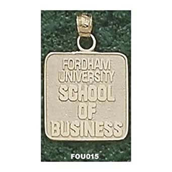 """Fordham Rams """"School of Business Seal"""" Pendant - 10KT Gold Jewelry"""