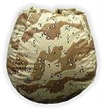 Bean Bag Desert Storm Camouflage